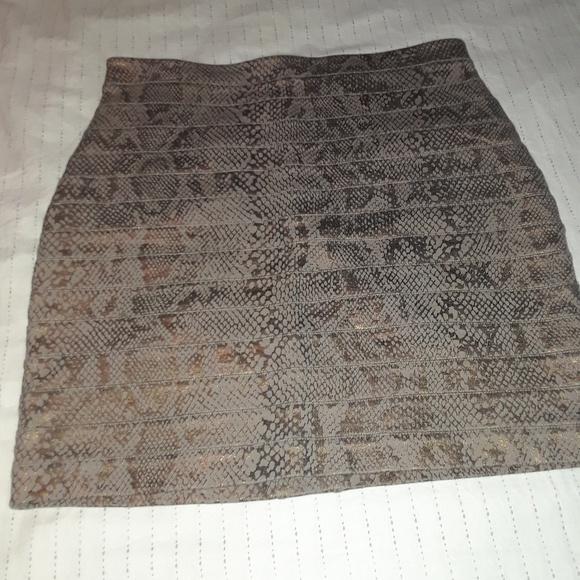 Express Dresses & Skirts - Express Snake Print Skirt